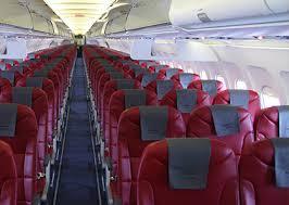 внутри самолета