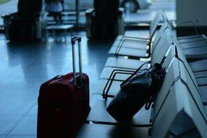 чемоданы в аэропорту