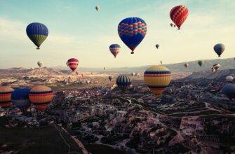 воздушные шары в Турции