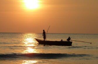 рыбалка на море