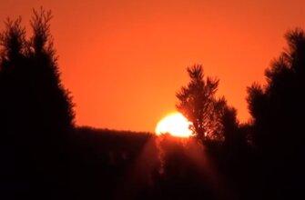 закат в Тамани